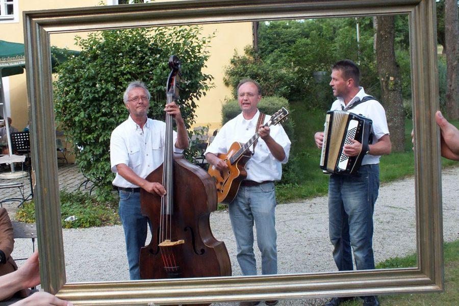 Das BGS-Trio aus dem Fichtelgebirge sorgt für gute Stimmung