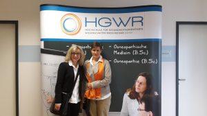 Christine Berek und Dr. Dr. Alexandra Bodmann bei HGWR-Eröffnung
