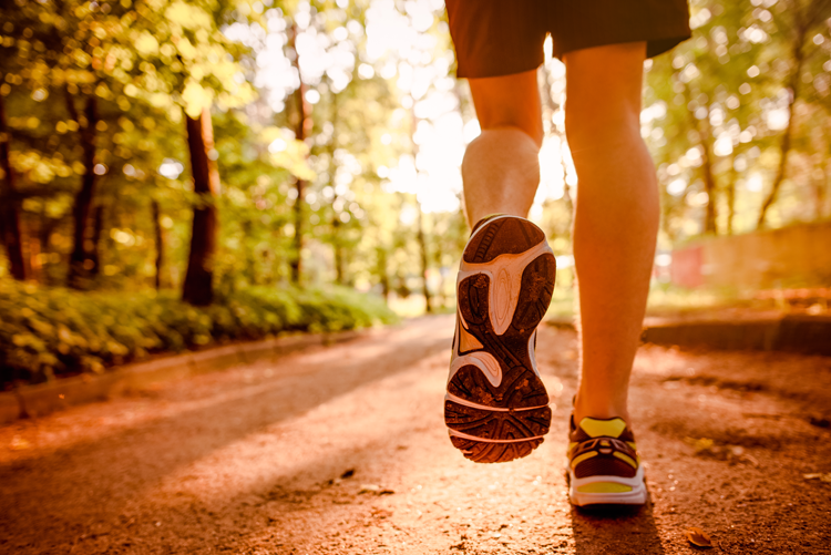 Osteopathie und Laufen